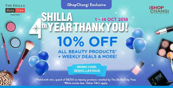 Shilla 4th Year Thank You