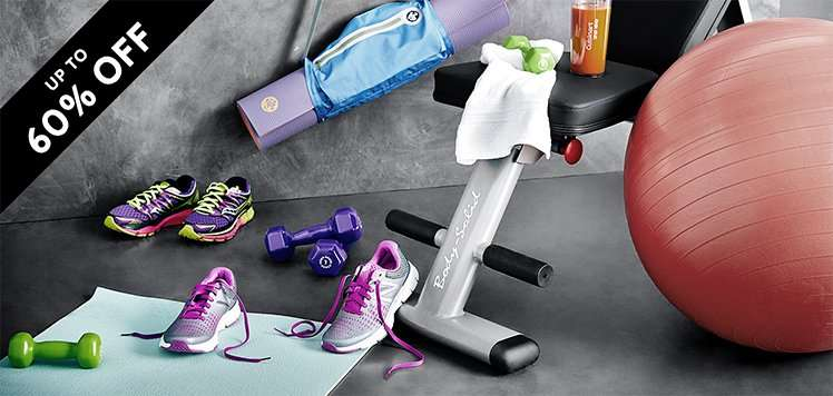 Fitness Equipment to Accessories