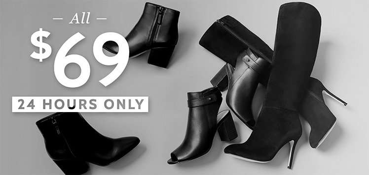 All $69 Boots & Booties