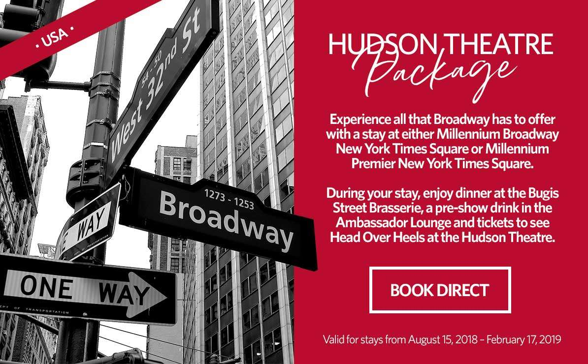 Hudson Theatre Package