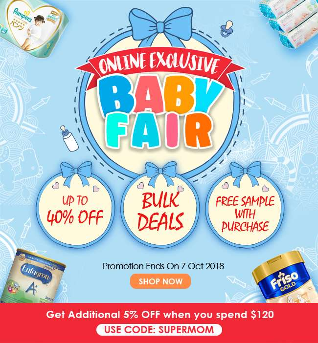 Click here to shop for Online Exclusive Baby Fair Fair Deals!