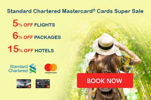 Exclusive for Standard Chartered Mastercard® Cardholders