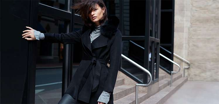 Sophisticated Style: Wool to Leather Coats