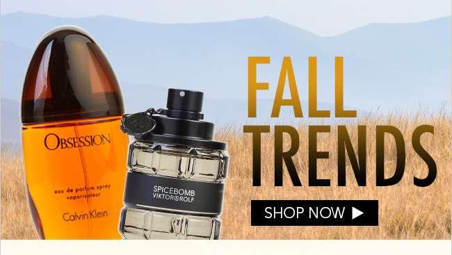 Shop Fall Trends Perfume & Cologne Fragrances