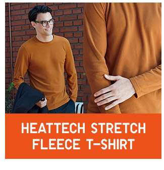 Shop HEATTECH Stretch Fleece Tshirt