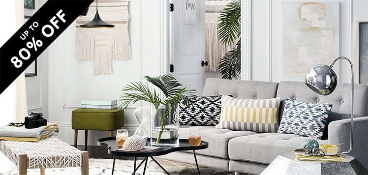 Fall Home Sale: Decor & Lighting