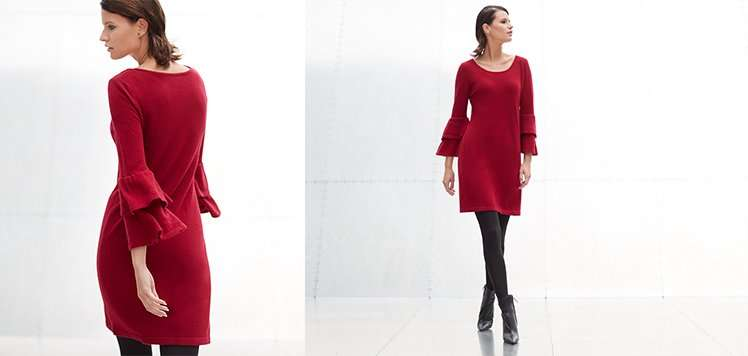 Cashmere & More Sweater Dresses