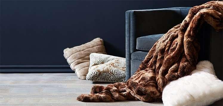 Safavieh & More Faux-Fur Pillows