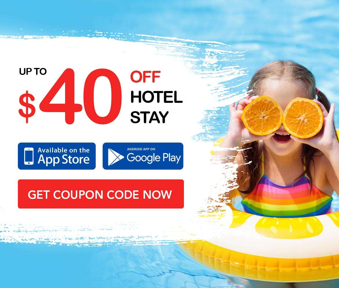 $40 OFF your hotel stay!