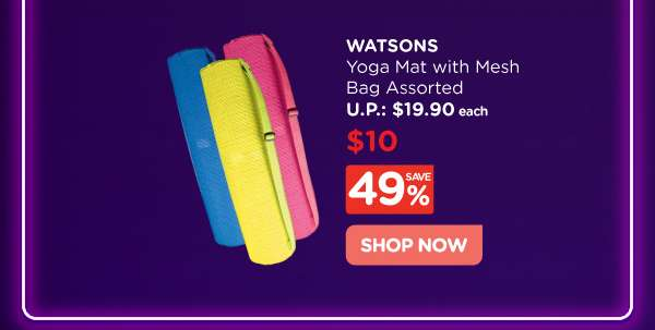 Watsons Yoga Mat