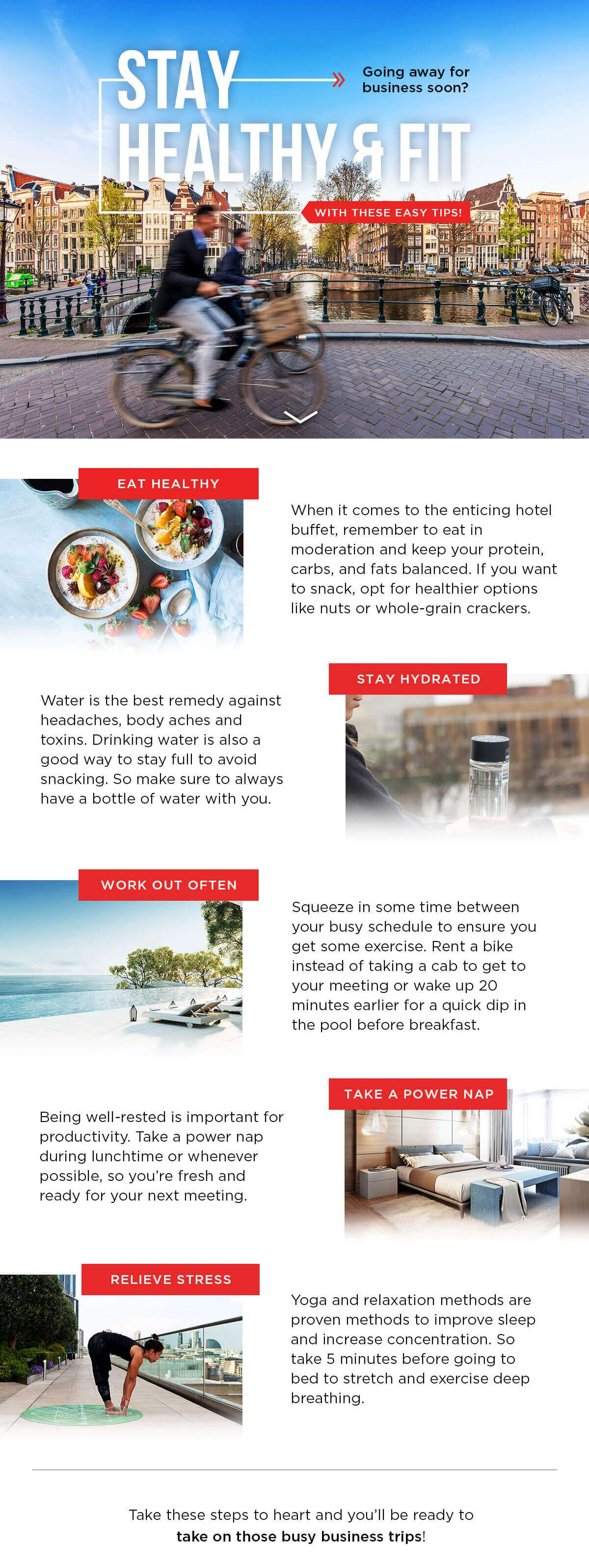 How to stay healthy & fit whilst travelling!