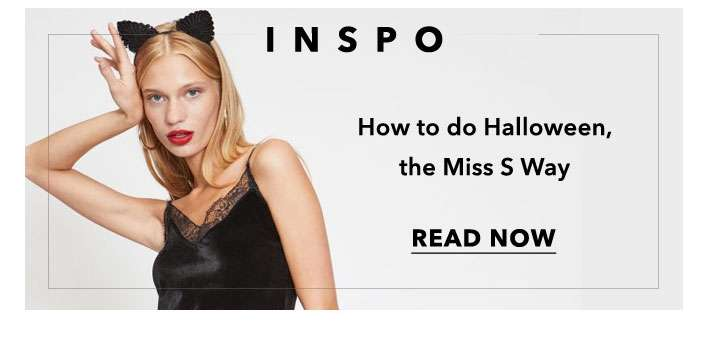 How to do Halloween, the Miss S way - Read now