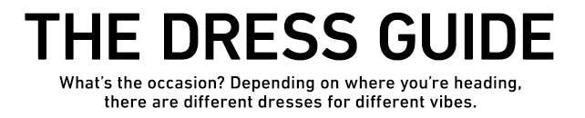 The Dress Guide