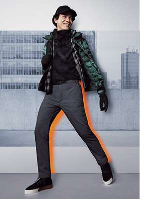 Men's Warm Lined Pants
