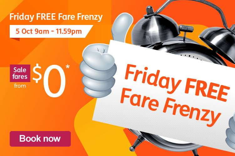 Friday FREE Fare Frenzy