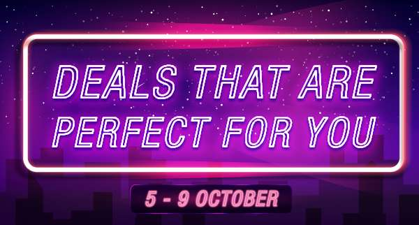 Deals that are perfect for you