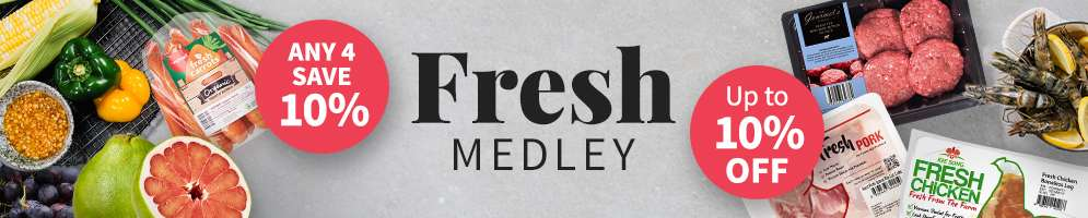 Your medley of Fresh Favourites, now with better prices!