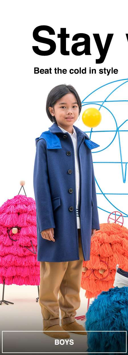 Keep your kids warm this winter with a new coat