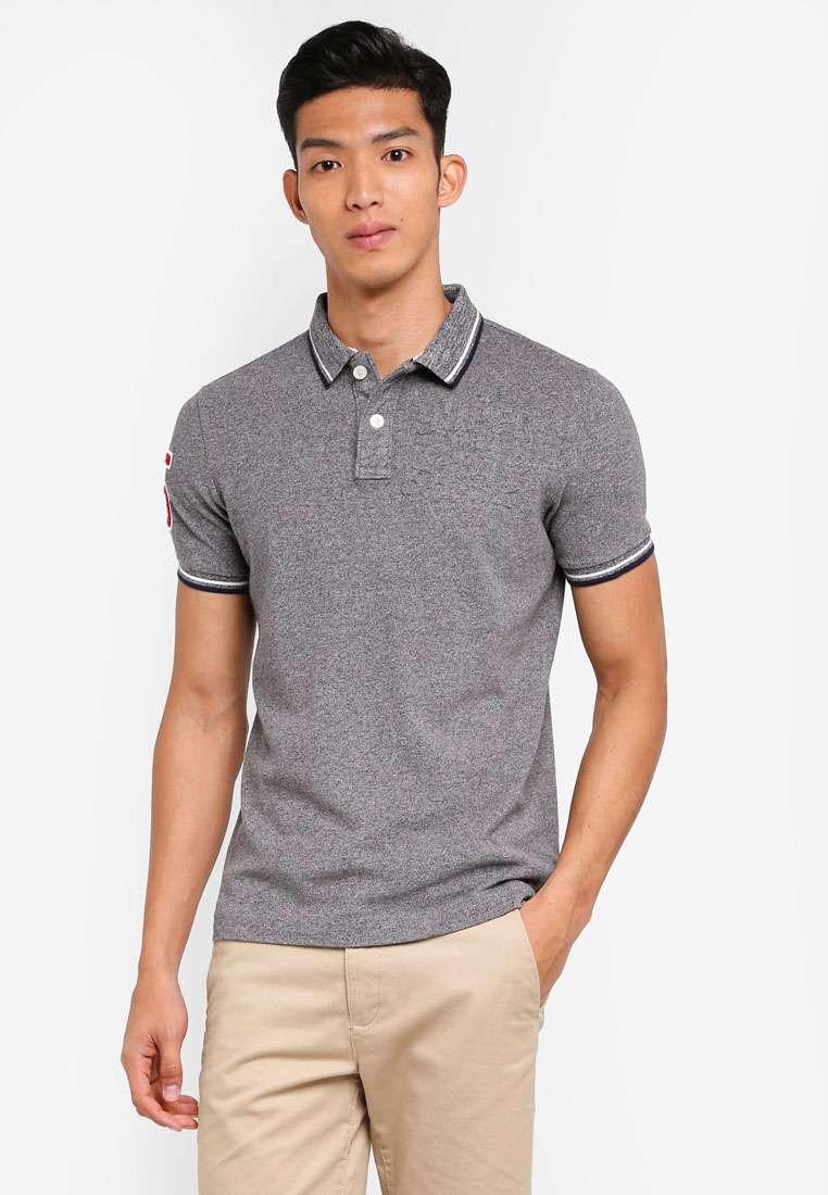 Classic Super Tri Clr Short Sleeve Polo Shirt