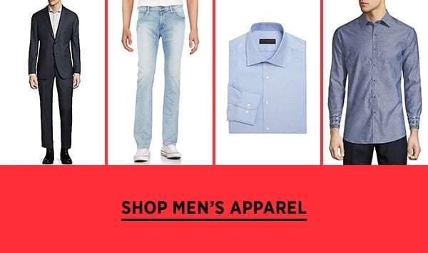 Shop Men's Apparel