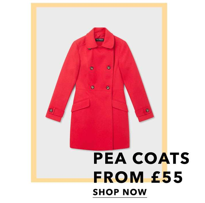 Pea coats from £55 - Shop now