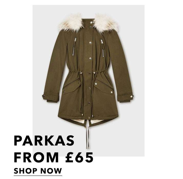 Parkas from £65 - Shop now