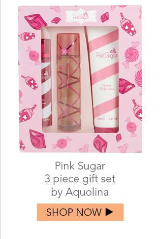 Shop Pink Sugar 3pc gift set by Aquolina