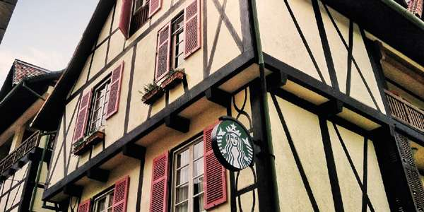Starbucks while you're in Colmar