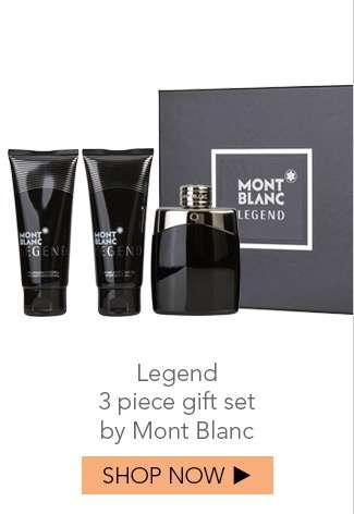 Shop Legend 3pc Gift Set by Mont Blanc