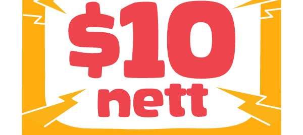 $10 nett