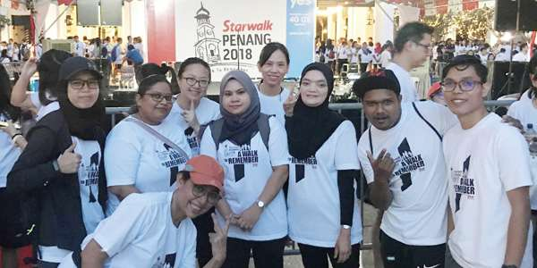 Associates took part in 41st Penang StarWalk