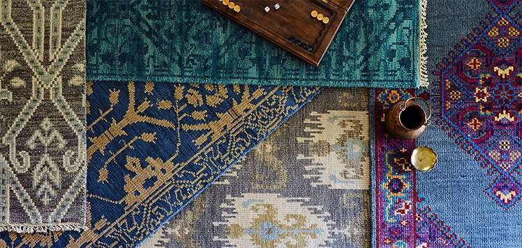 The Rug Stack: Colorful