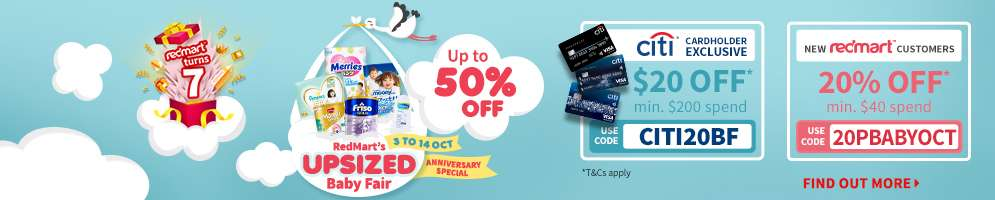 Don't have a Standered Chartered Card yet? Get one now and get receive $150 RedMart vouchers!