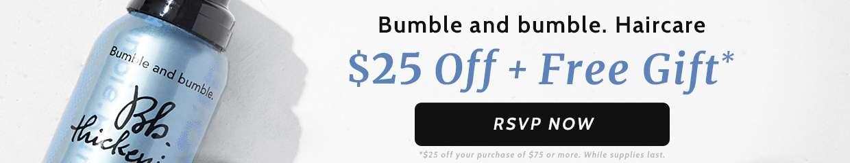$25 Off Bumble & Bumble!