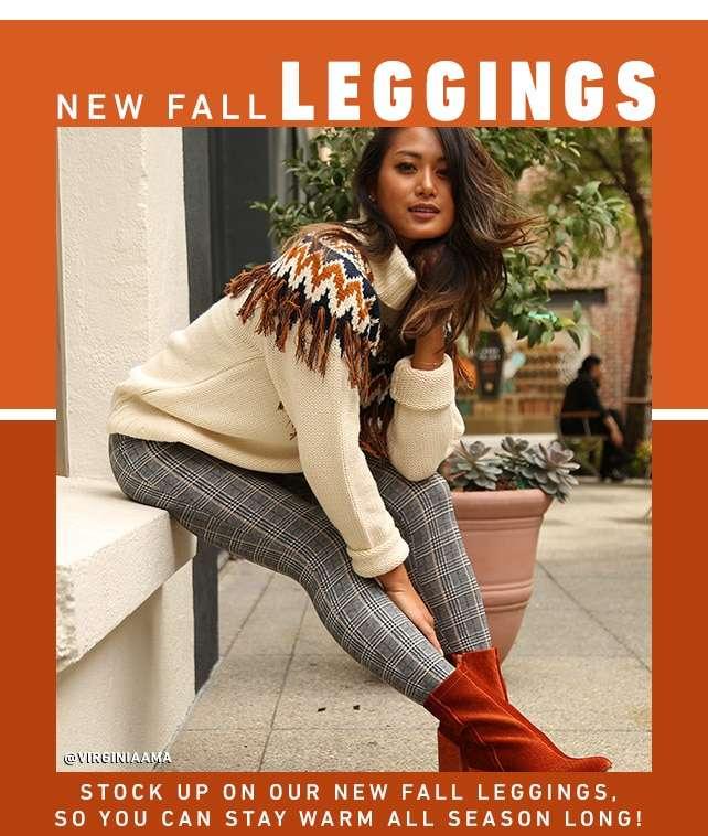New Fall Leggings