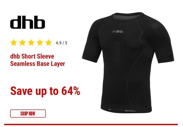 dhb Short Sleeve Seamless Base Layer