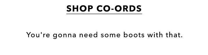 Shop Co-ords