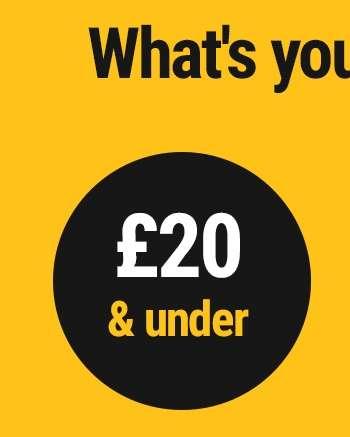 £20 & under