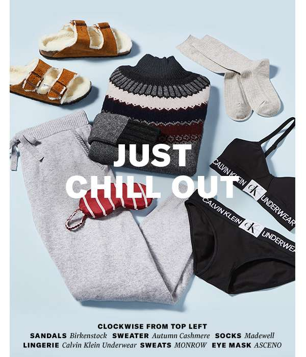 Cancel your plans—our latest stay-cozy loungewear is here.