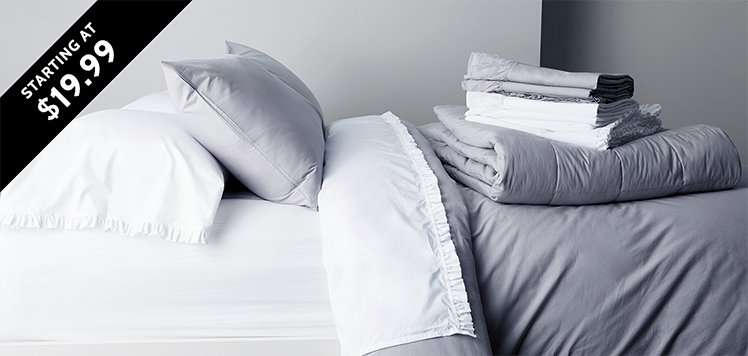 Bedding & Bath New-Season Musts
