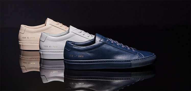 Common Projects & More Elevated Sneakers