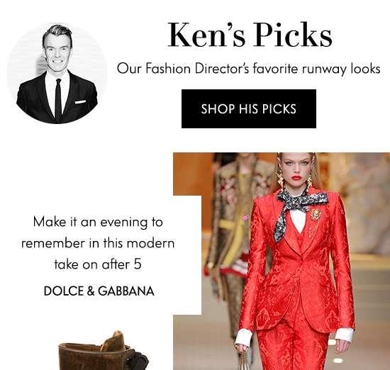 Ken's Picks