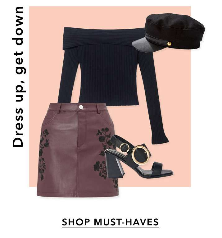 Dress up, get down - Shop must-haves