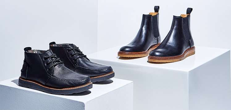 Boots & More Men's Shoes