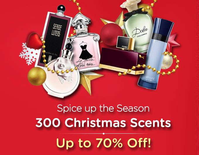 Top 300 Christmas Fragrances Up to 70% Off! Amouage, Calvin Klein, Hugo Boss, DKNY & more! Ends 26 Dec 2018
