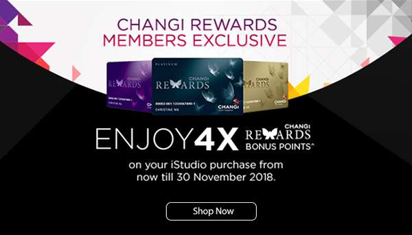 Changi Rewards Members Exclusive
