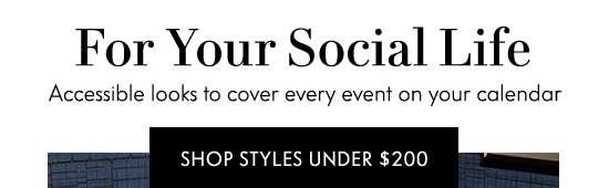 Shop Styles Under $200