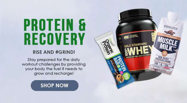 Click here to shop for Protein & Recovery fuel!