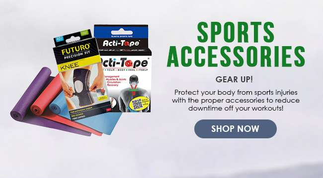 Click here to shop for Sports Accessories!