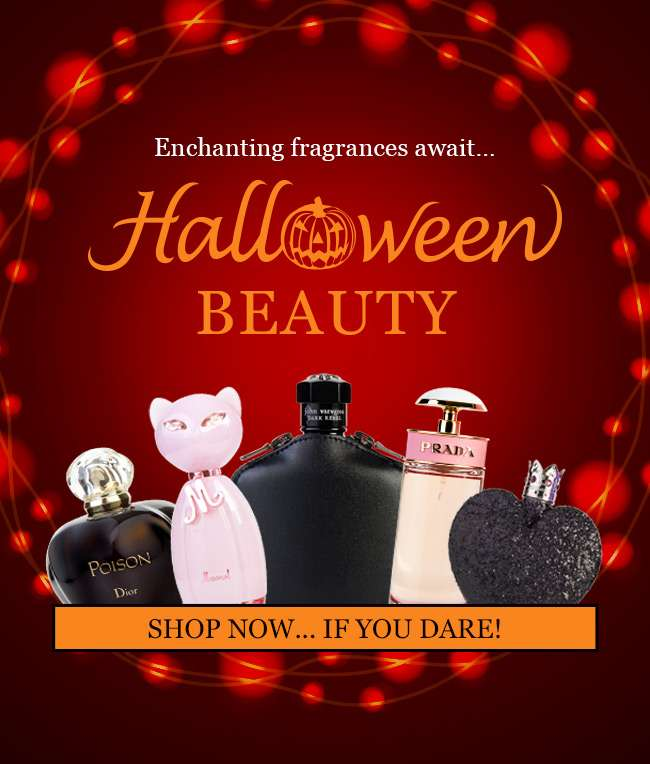 Halloween Beauty. Shop Now... If you dare!